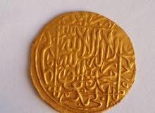 عمله ذهبيه نادره من العصر الاسلامي  للبيع بلعلا سعر