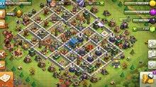 قرية كلاش clash of clans للبيع