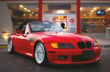 BMW Z3 car for rent