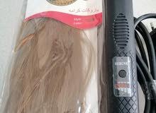 عرض جيد - جهاز فير سيراميك مع شعر تركيب