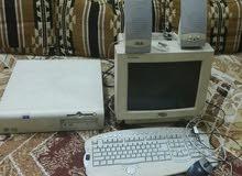 كمبيوتر قديم بس شغال علا نت وبي العاب من سيربح المليون والعاب آخرة