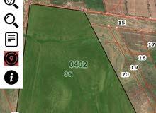 ارض للبيع في الاردن منطقه المفرق على شارع دولي ما بين سوري و الاردن