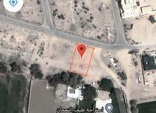 ارض سكنية في بركاء النعمان بالقرب من المنازل والشارع العام