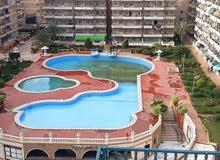 شقة بروف خاص 250 متر داخل كمباوند سكني مصيفي في شاطئ النخيل