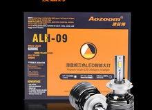 Aozoom car headlights led xenon bulbs blaster and lenses