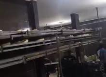 مخبز آلي خبزة شاميه القدره الانتاجية 3000 رغيف في الساعه