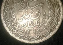 بيع عملة نادرة لخمسة فرنكات بتاريخ 1946 للمنصف باي