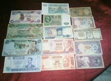 عملات ورقية بسعر 6 دنانير