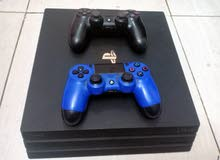 ps4 pro 1 t with 2 control