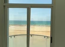غرفتين وصاله للايجار الشهري في عجمان كورنيش عجمان بدون فرش بدون شيكات وشامل