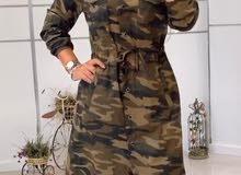 فستان عسكري تركي