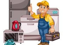 صيانة تبريد وتكييف وأجهزة كهربائية