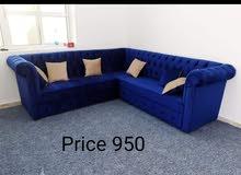 للبيع طقم كنب جديد لدي  new sofa set i have