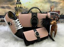 حذاء مع حقيبه