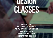 Animation, Motion Graphics, Web Design, Coding, Computer Skills Courses