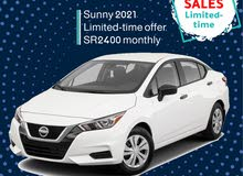 Nissan Sunny 2021 for rent (Limited offer)