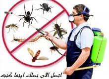 خصم 50% علي مكافحة الحشرات ب 25 ريال داخل مسقط للشقق مع وجود ضمان