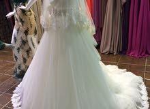 فستان زفاف تركي طلب خاص