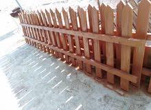 سياج من خشب صنوبر مميز