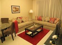 شقة ارضية مفروشة للايجار 2 نوم  في عبدون