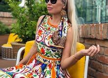 فستان نوعية ممتازة صناعة تركية