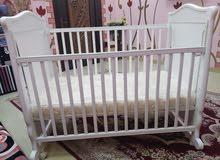 سرير اطفال مستخدم 5 شهور فقط