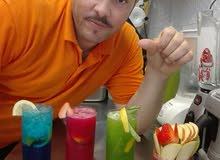 برستا بارمان محترف خبره اكثر من 11عامProfessional Barista Barman