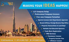 Business Setup / Property Investor Visa / PRO Services / Reliable Local Sponsor