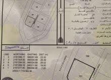 ارض للبيع 714م بالدقم رقم 131