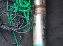 غطاس قوة ضخ 40 متر أنش ونص مع بيب طوله 25 متر