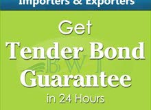 Tender Bid – Tender Bond for Suppliers & Contractors