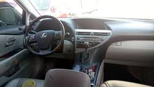 Lexus RX car for sale 2010 in Sohar city