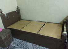 غرفة نوم خشب كاملة بحالة جيدة جدا