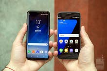 مطلوب جهازين  Galaxy S7 أو S8