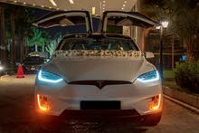 Tesla X 2018 for rent per Day