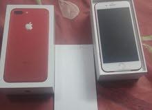 ايفون 7 بلس اللون احمر راكزه 256
