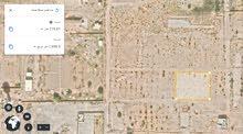 قطع أراضي 500 متر للبيع وبها شهادة عقارية