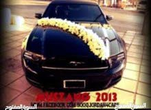 Black Ford Mustang 2013 for rent