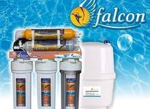فلتر ماء 7 مراحل امتياز امريكي ضمان سنة توصيل مجانا