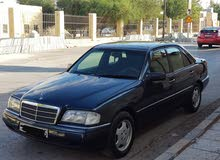 Black Mercedes Benz C 180 1997 for sale