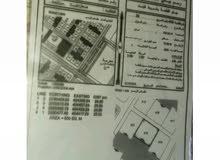 للبع ارض في حي الرفعه مربع 20