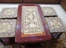 طاولات كنب خشب للبيع