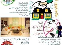 شركة الوفاء لخدمات التنظيف ومكافحة الحشرات وأعمال الرمه