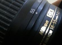 عدسة  نيكون 18-55vrللبيع او للبدل با50mm