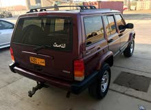 Red Jeep Cherokee 2001 for sale