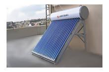 سخانات شمسية Lucky Solar 8 - السمان للطاقة المتجددة كاش او اقساط بنكية