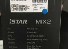 iStar Mix2 Dual Sim Fingerprint Smartphone