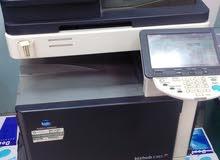 جهاز تصوير اسكنر برينت ملون واسود Minolta C353