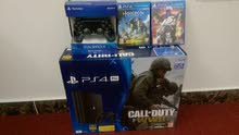 ps4 pro 1tb 4k brand new not open +2 controules +3 games