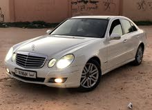 For sale Mercedes Benz E 200 car in Tripoli
